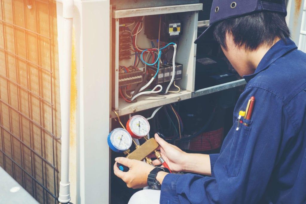 HVAC technician godfrey il