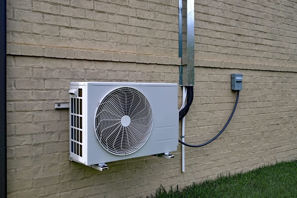a ductless heating system in bethalto illinois